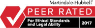 Palmer Biezup & Henderson LLP is a Martindale-Hubbel Rated Firm